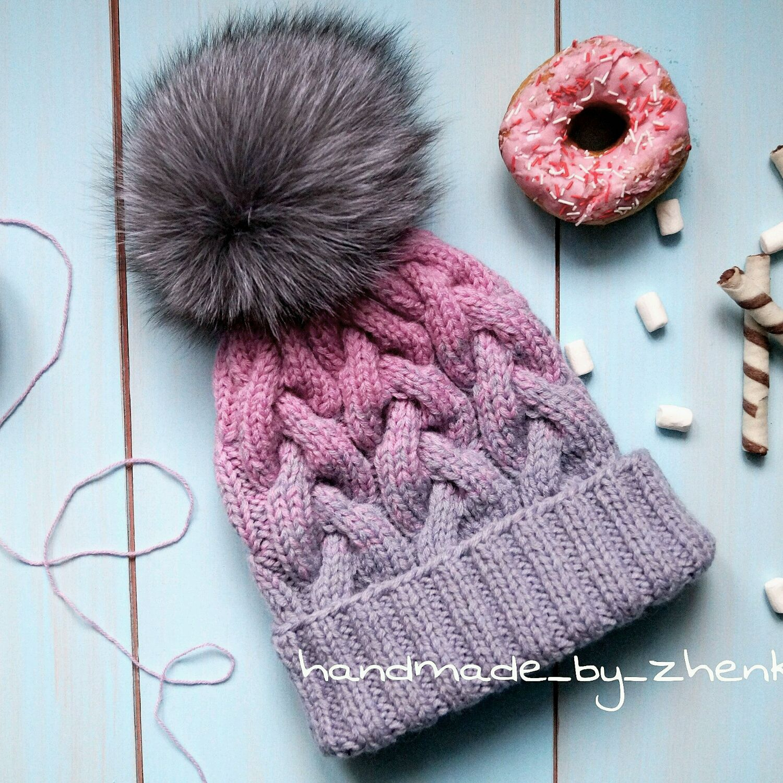 шапка градиент фото
