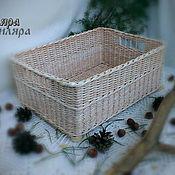 Для дома и интерьера ручной работы. Ярмарка Мастеров - ручная работа Корзина. Handmade.