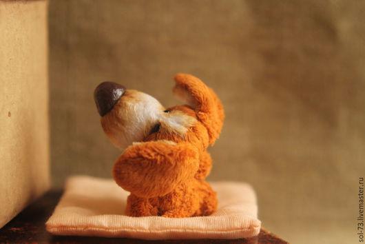 Мишки Тедди ручной работы. Ярмарка Мастеров - ручная работа. Купить Купите щенка! 8 см!. Handmade. Мишки тедди