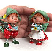 Куклы и игрушки ручной работы. Ярмарка Мастеров - ручная работа Чаепитие. Handmade.