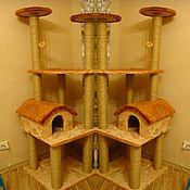 Для домашних животных, ручной работы. Ярмарка Мастеров - ручная работа Когтеточка 4. Handmade.