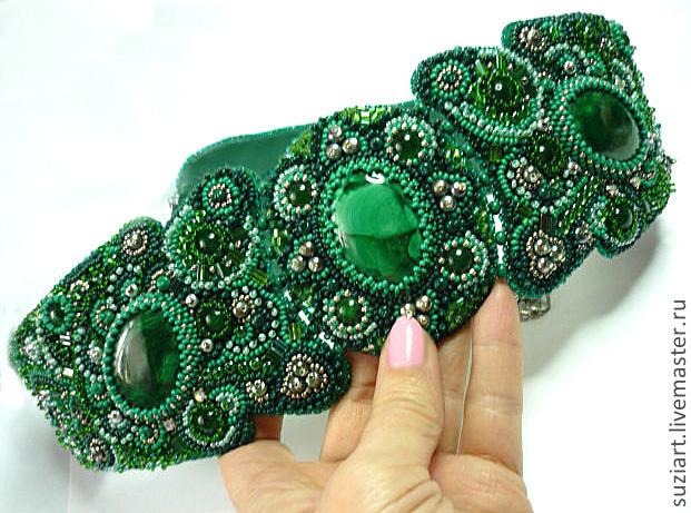Вышивки бисером и камнями фото