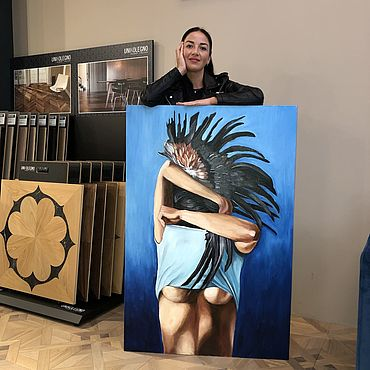 Картины и панно ручной работы. Ярмарка Мастеров - ручная работа Картины: по мотивам Amy Judd. Handmade.