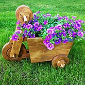 Цветы и флористика handmade. Livemaster - original item Garden planter Bicycle. Handmade.
