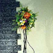 Цветы и флористика ручной работы. Ярмарка Мастеров - ручная работа Топиарий Летний микс. Handmade.