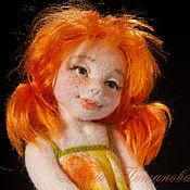 Куклы и игрушки ручной работы. Ярмарка Мастеров - ручная работа Маришка. Авторская войлочная кукла. Handmade.
