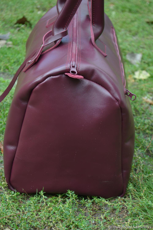 5d6e3e30ae20 Sharky Женские сумки ручной работы. Брендовый кожаный саквояж 'Италия' из натуральной  кожи.