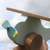Куклы и игрушки ручной работы. Ярмарка Мастеров - ручная работа Деревянный Самолетик. Handmade.