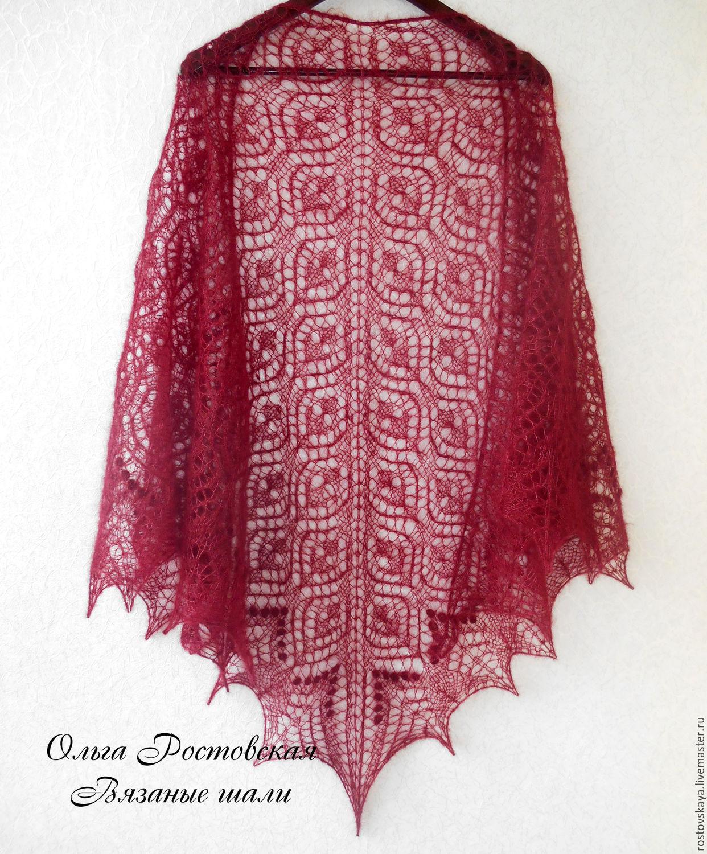 www.yandex.ua схемы вязания шалей спицами