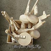 Материалы для творчества ручной работы. Ярмарка Мастеров - ручная работа Автомат Томпсона неокрашенное дерево. Handmade.