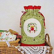 Для дома и интерьера handmade. Livemaster - original item A bag with hand embroidery