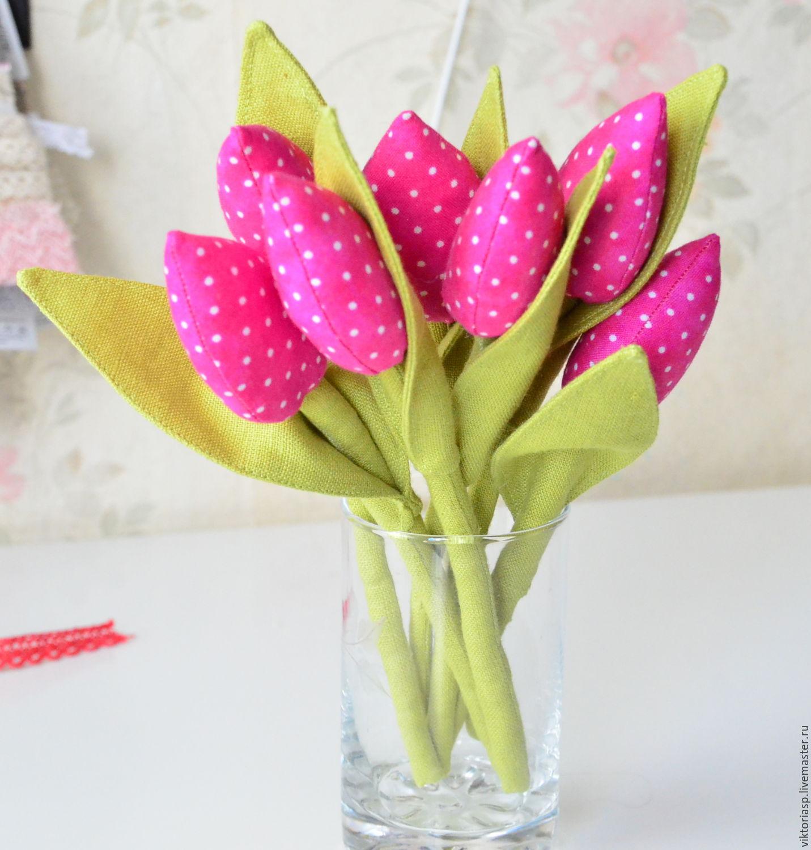 глушаков картинки тюльпанов из ткани глубине души