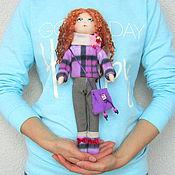 Куклы и игрушки ручной работы. Ярмарка Мастеров - ручная работа Кукла со сменной одеждой. Тряпичная Кукла. Текстильная Кукла. (8). Handmade.