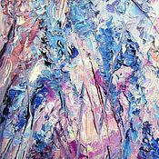 Картины и панно ручной работы. Ярмарка Мастеров - ручная работа Сиренево-голубой микс. Handmade.