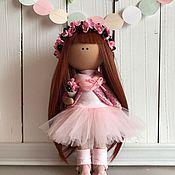 Куклы и игрушки ручной работы. Ярмарка Мастеров - ручная работа Интерьерная текстильная кукла Майя. Handmade.