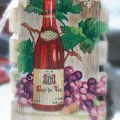 Для дома и интерьера ручной работы. Ярмарка Мастеров - ручная работа Короб,подставка для вина или масла. Handmade.