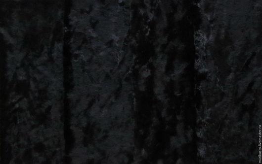 плюш винтажный, плюш фабричного окраса плюш для тедди, материалы для тедди, плюш, плюш для мишек, черный, длинноворсовый, Марина Кустова, Ярмарка Мастеров