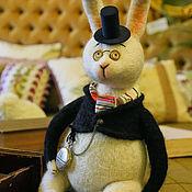 Куклы и игрушки ручной работы. Ярмарка Мастеров - ручная работа Мартовский кролик.. Handmade.