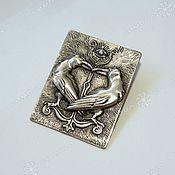 Русский стиль handmade. Livemaster - original item The Amulet Of The Three-Eyed Raven. Handmade.