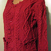 Одежда handmade. Livemaster - original item Sweater knit.Button.. Handmade.