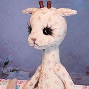 Куклы и игрушки ручной работы. Ярмарка Мастеров - ручная работа Жирафик Звёздочка. Handmade.