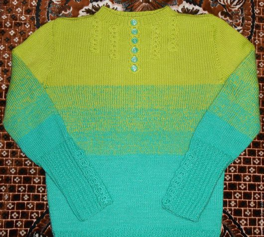 Кофты и свитера ручной работы. Ярмарка Мастеров - ручная работа. Купить Пуловер  PHILDAR. Handmade. Комбинированный, жакет для девочки, кофта