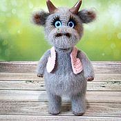Куклы и игрушки handmade. Livemaster - original item Bull Fedka. Handmade.
