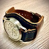 Ремешок для часов ручной работы. Ярмарка Мастеров - ручная работа Ремешок для часов: Ремешок для часов. Handmade.