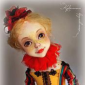 """Куклы и игрушки ручной работы. Ярмарка Мастеров - ручная работа Коломбина """"Маковка"""". Handmade."""