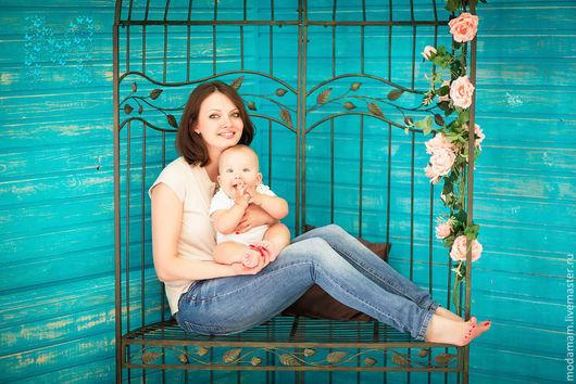 Для будущих и молодых мам ручной работы. Ярмарка Мастеров - ручная работа. Купить Поло MODAMAM для беременных и кормящих капучино. Handmade.