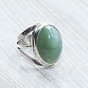 Украшения handmade. Livemaster - original item Jade (ring) (381). Handmade.