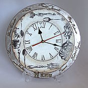 """Для дома и интерьера ручной работы. Ярмарка Мастеров - ручная работа Часы """"Кухня"""". Handmade."""
