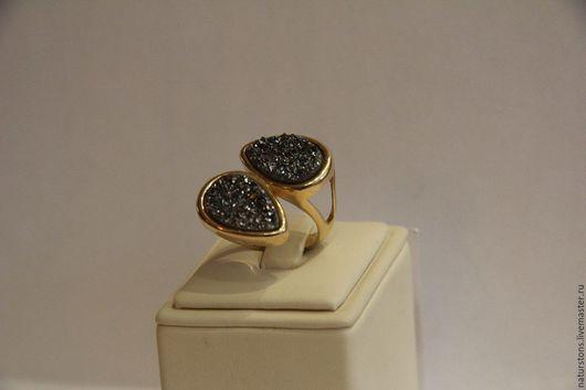 Кольца ручной работы. Ярмарка Мастеров - ручная работа. Купить кольцо с друзой Кристальный поцелуй. Handmade. Серебряный, универсальное украшение