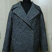 Одежда ручной работы. Ярмарка Мастеров - ручная работа пальто -оверсайз-микс. Handmade.