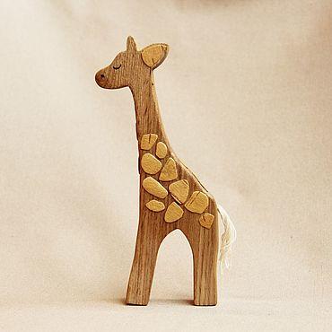 Деревянная игрушка - Жираф