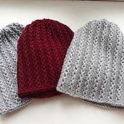 Аксессуары ручной работы. Ярмарка Мастеров - ручная работа Вязаная женская  зимняя шапка+ снуд. Handmade.