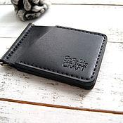 Сумки и аксессуары handmade. Livemaster - original item Money clip handmade from genuine leather. Handmade.