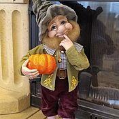 Куклы и игрушки handmade. Livemaster - original item Dwarf Pumpkin. Handmade.