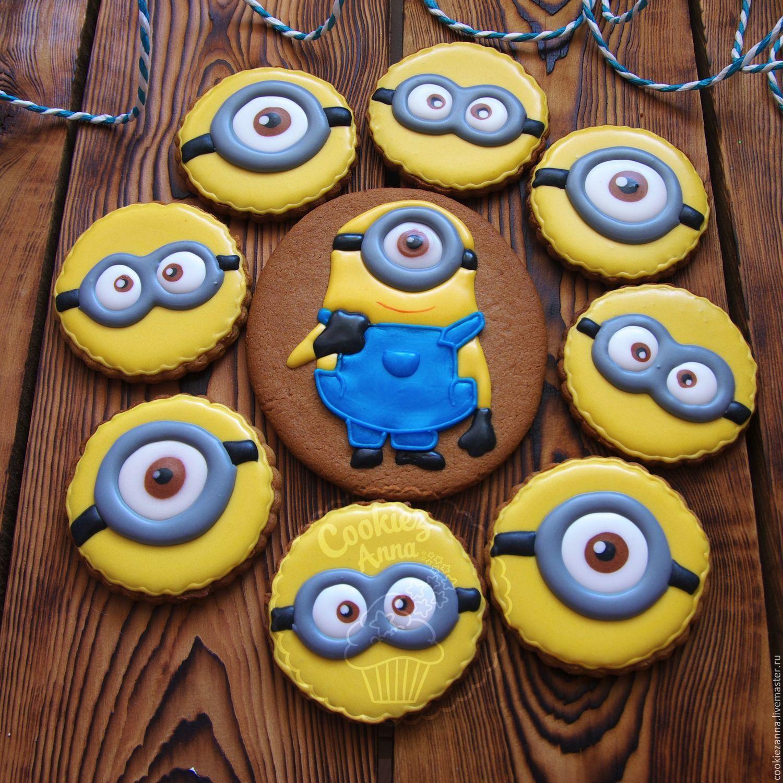 Печенье миньоны своими руками фото 361