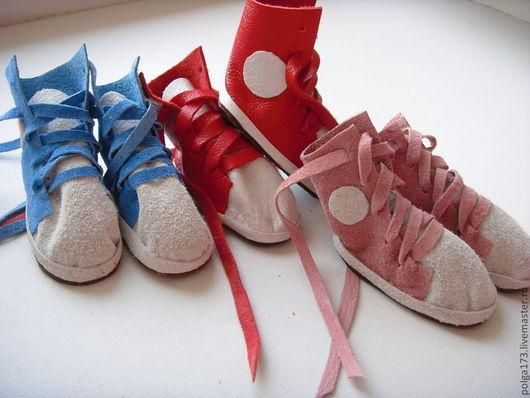 Одежда для кукол ручной работы. Ярмарка Мастеров - ручная работа. Купить Бутсы для Тильды. Handmade. Обувь для кукол, Замша натуральная