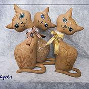 Куклы и игрушки ручной работы. Ярмарка Мастеров - ручная работа Интерьерные ароматизированные кошечки. Handmade.