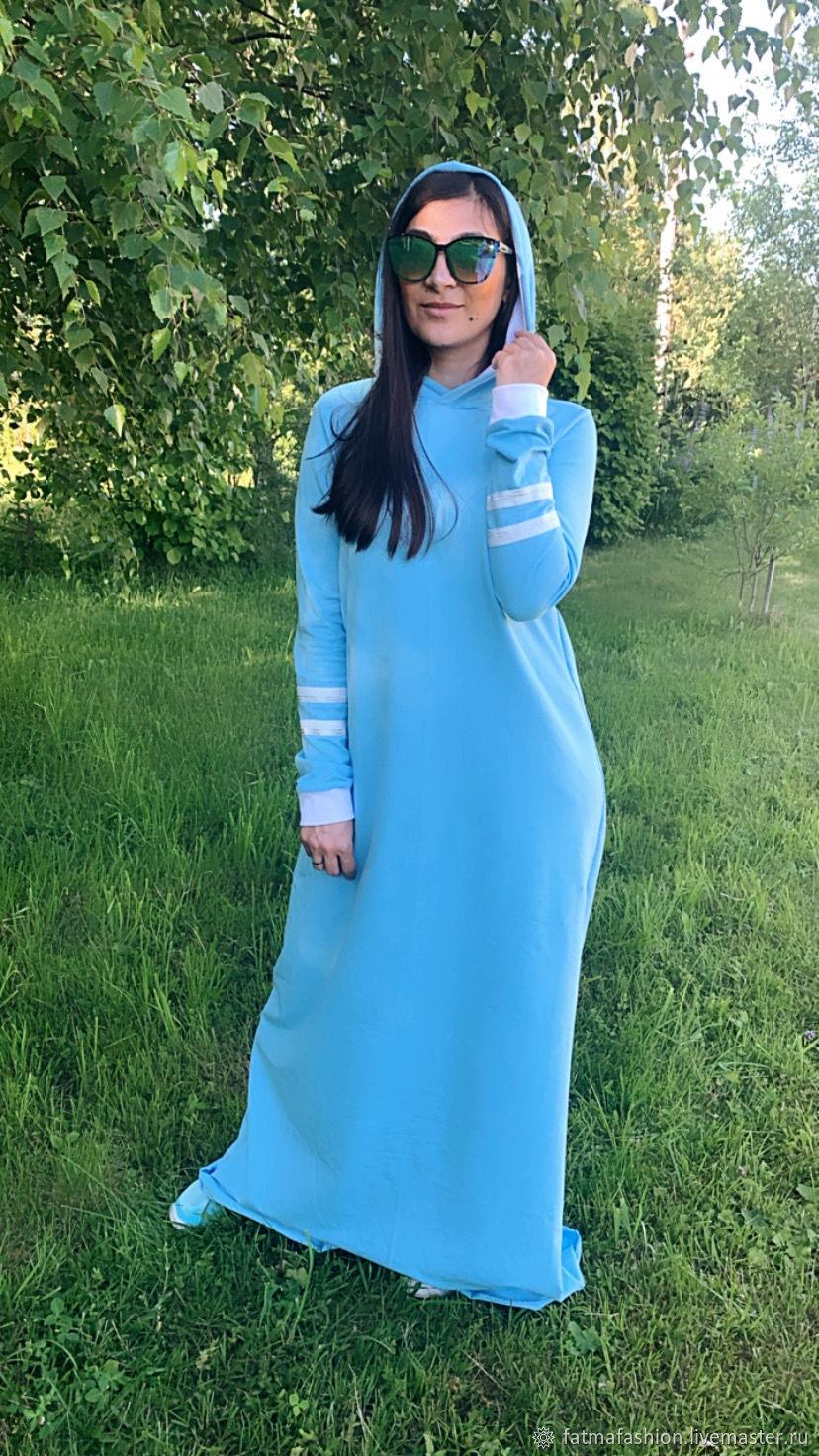 Платье Худи с капюшоном Мариэль, Платья, Москва,  Фото №1