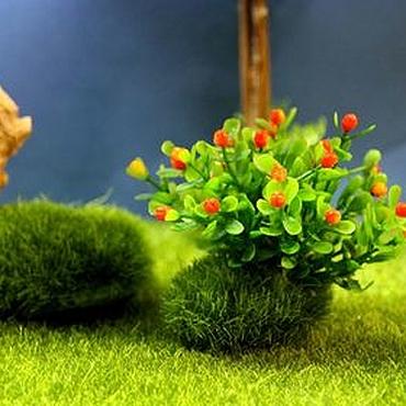 Куклы и игрушки ручной работы. Ярмарка Мастеров - ручная работа Куст 8 см. Ягодный на кочке.. Handmade.