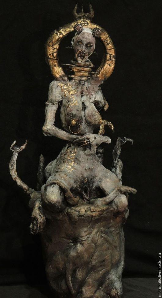 Коллекционные куклы ручной работы. Ярмарка Мастеров - ручная работа. Купить Aradia. Handmade. Васильковый, молот ведьм