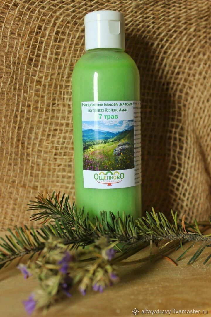 Hair balm 7 herbs, Balms, Kemerovo,  Фото №1