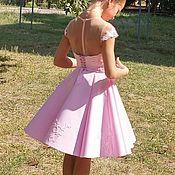 Одежда ручной работы. Ярмарка Мастеров - ручная работа Одежда: нарядное платье с кружевом. Handmade.