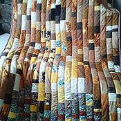 """Для дома и интерьера ручной работы. Ярмарка Мастеров - ручная работа Лоскутное одеяло """"Сны о Климте"""". Handmade."""