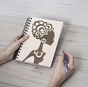 """Блокноты ручной работы. Ярмарка Мастеров - ручная работа Блокнот """"Африка"""". Handmade."""