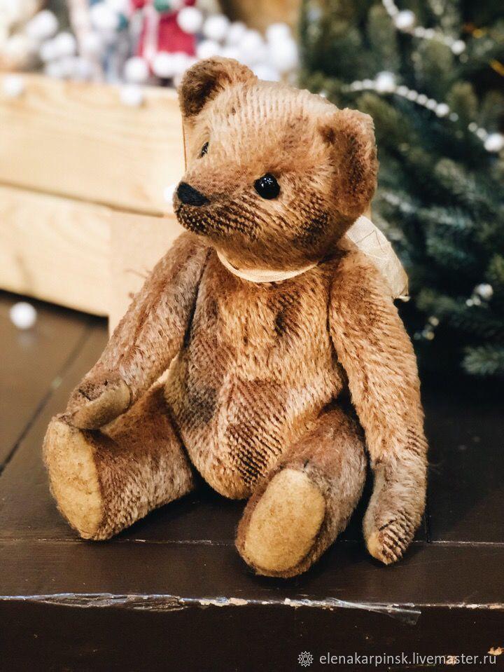 fea2fc2b25 Teddy Bears handmade. Livemaster - handmade. Buy Tiny Tim.Teddy,  collectible bear ...