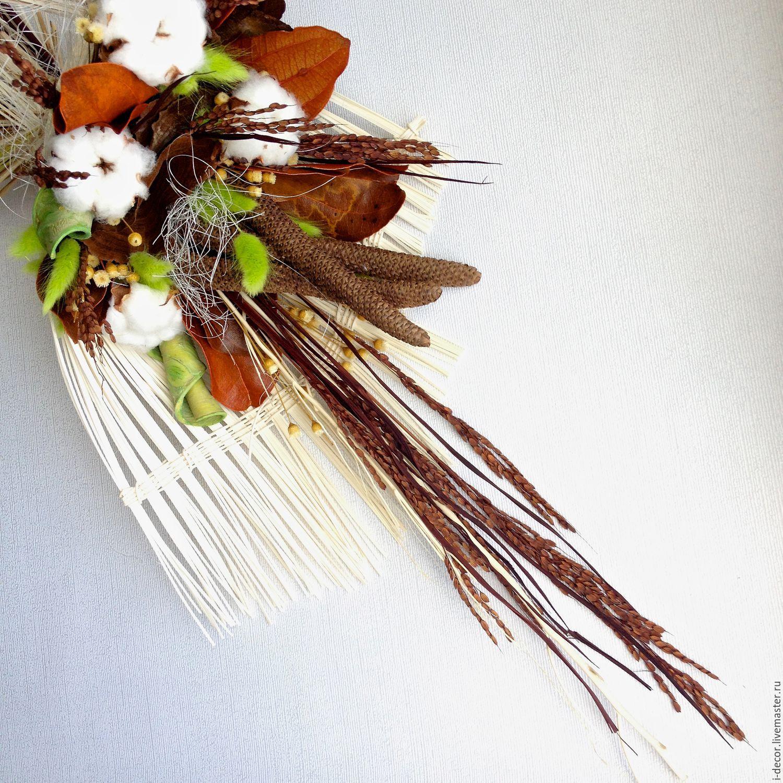 Букеты из сухоцветов своими руками фото